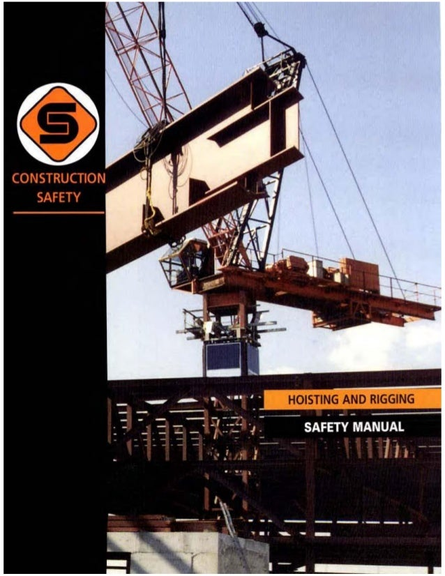 Construction safety association of ontario hoist