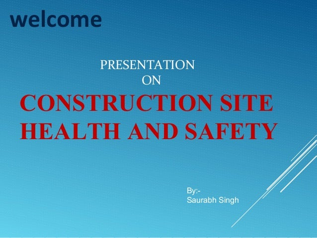 Dissertation on construction health and safety