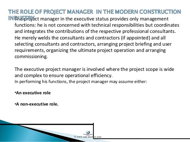 program manager roles and responsibilities
