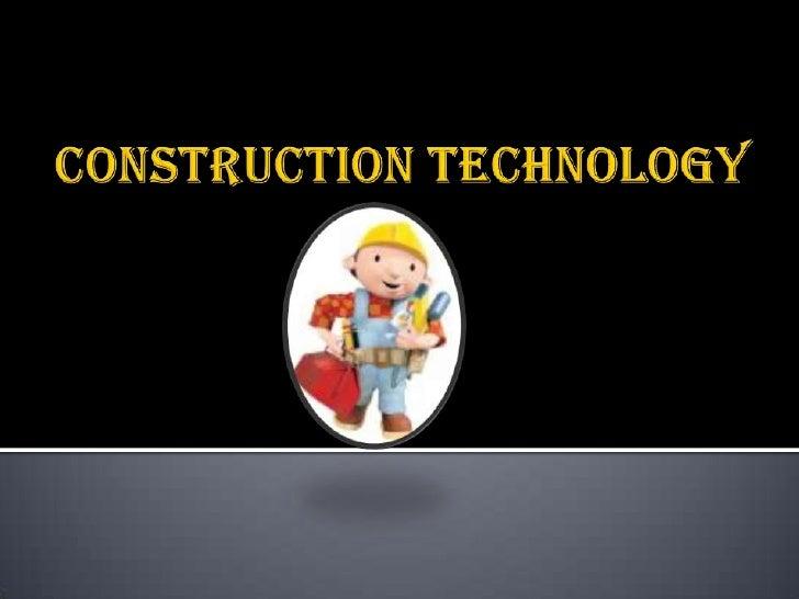 Construction Technology<br />