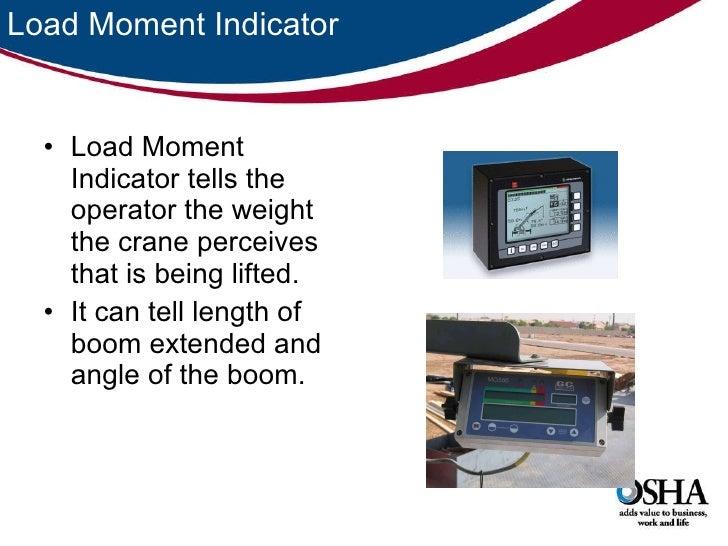 Load Moment Indicators For Cranes : Construction truck crane