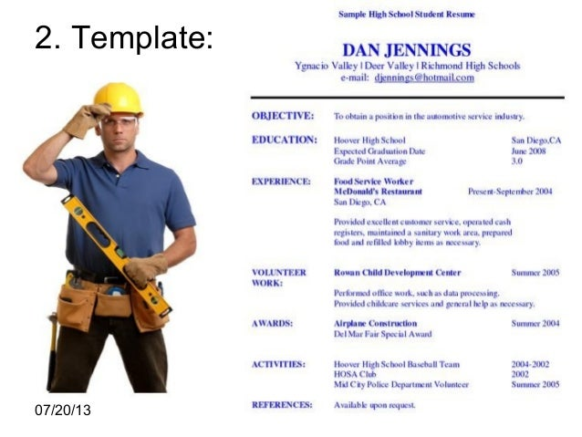 Construction Worker Resume Examples And Samples construction – Sample Resume for Construction Worker