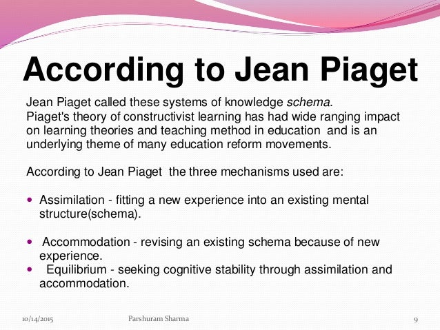 jean piaget and high school cognitive Development theories of piaget and vygotsky education essay  jean piaget (1886 - 1980  only 35% of high school graduates in.