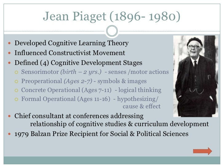 Piaget and the Young Mind: Child Development Stages ...