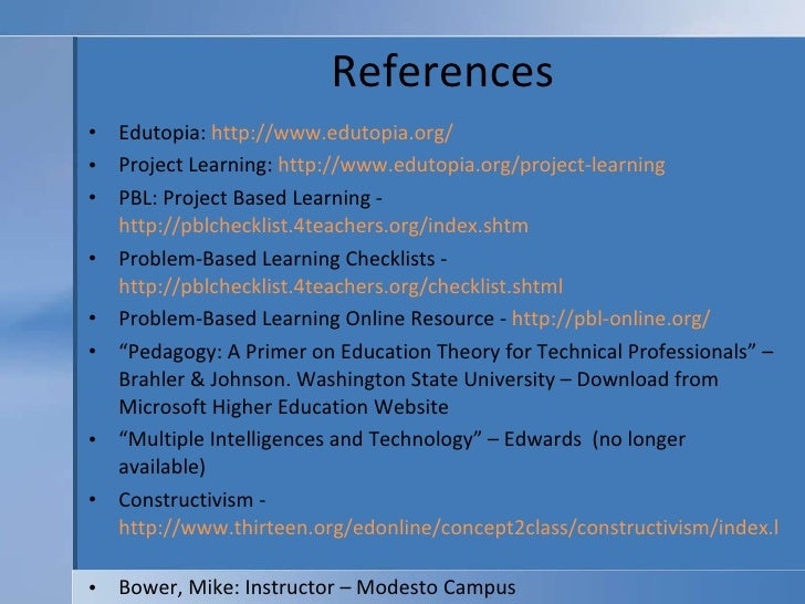 project based learning pbl checklists 4teachers simple