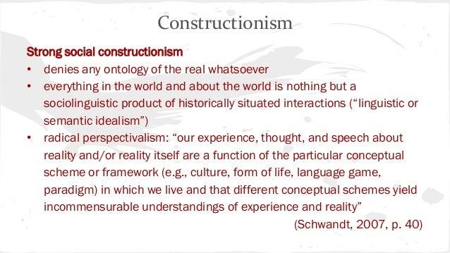 Radical constructivism: Wikis