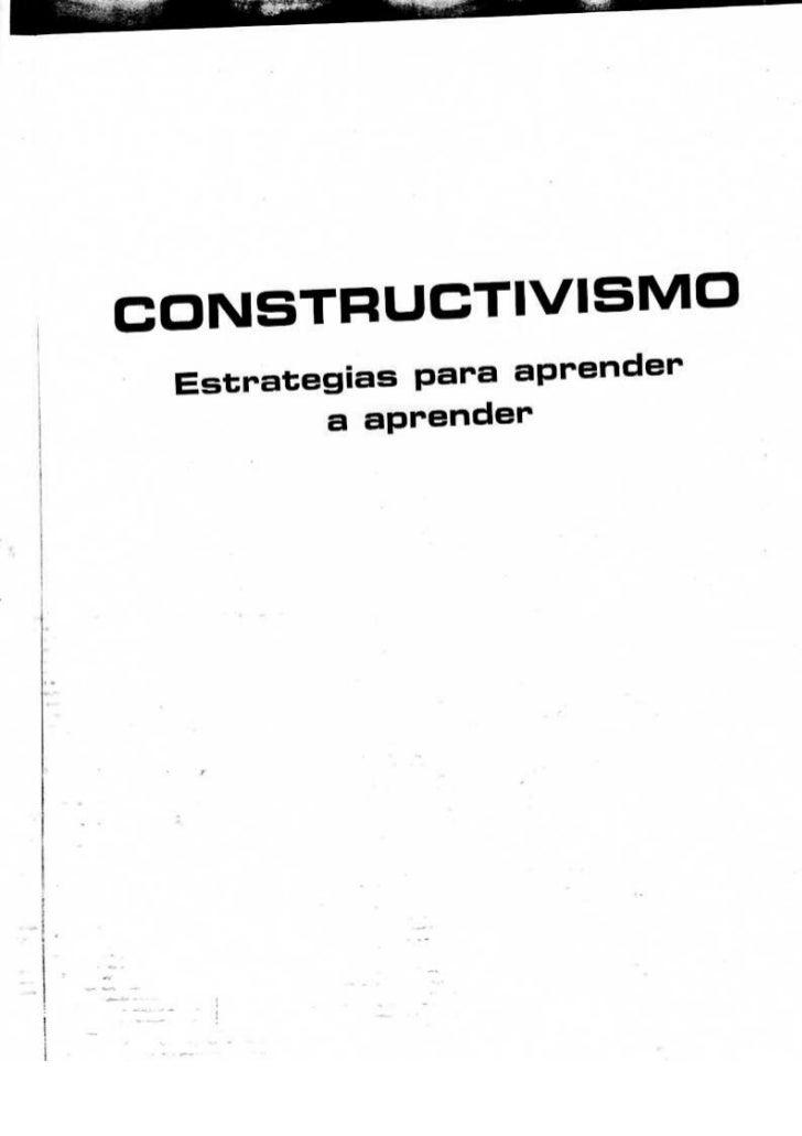 constructivismo libro dr julio pimienta pdf