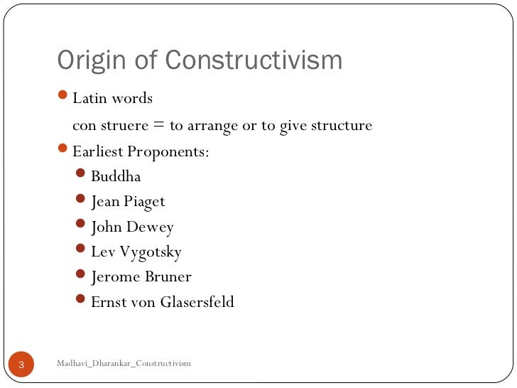 constructivist learning theory bruner pdf