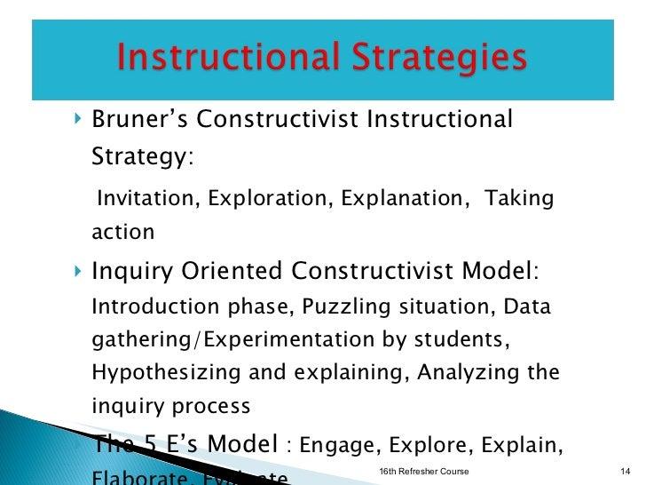 Constructivist Pedagogy