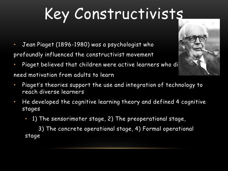 Piaget theory learn by doing