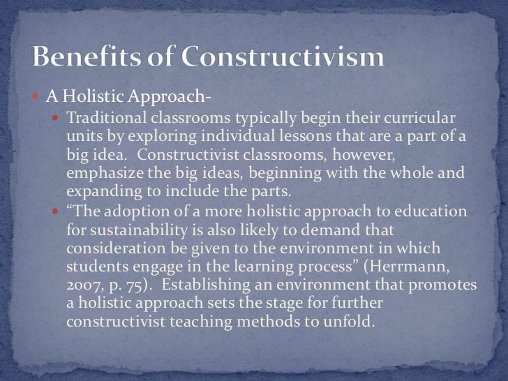 constructivist teaching The constructivist educator promotes learners' interest, experimentation, and cooperation the association for constructivist teaching is a professional organization promoting children's construction of knowledge in.