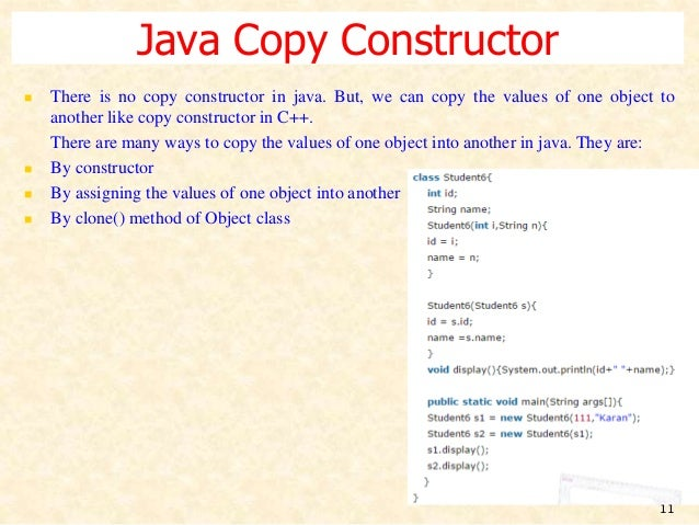 how to create object for private constructor in java