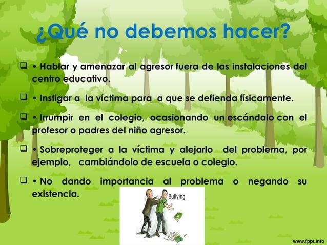 Estrategias para los padres. • Educar con el ejemplo, en un ambiente libre de violencia familiar y basado en valores. • Ap...