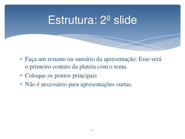 Como fazer uma boa apresentação de slides