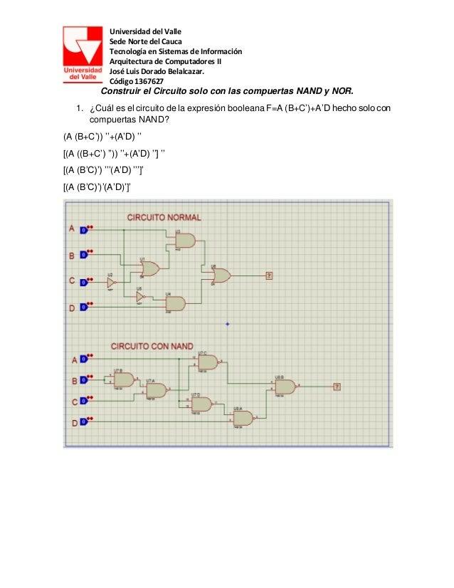 Universidad del Valle Sede Norte del Cauca Tecnología en Sistemas de Información Arquitectura de Computadores II José Luis...