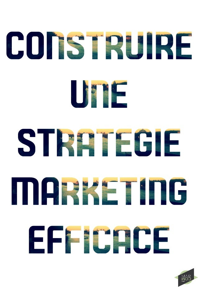 La stratégie marketing est un passage obligatoire pour toute société, peu importelatailleetletyped'activité. Souvent faite...