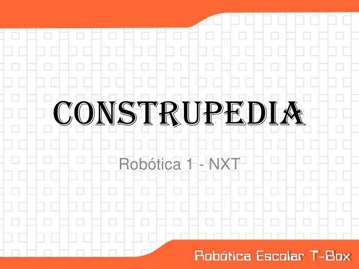 Construpedia   Robótica 1 - NXT