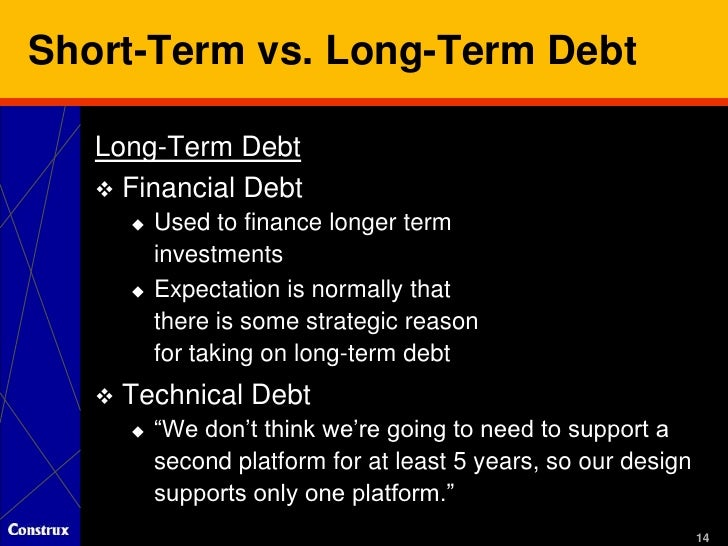 features of long term debt The current portion of long term debt is the amount of principal that will be due within one  what does current portion of long term debt mean  view pro features.
