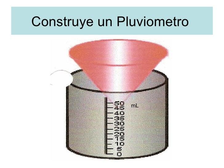Construy e veleta pluviometro - Como fabricar un pluviometro ...