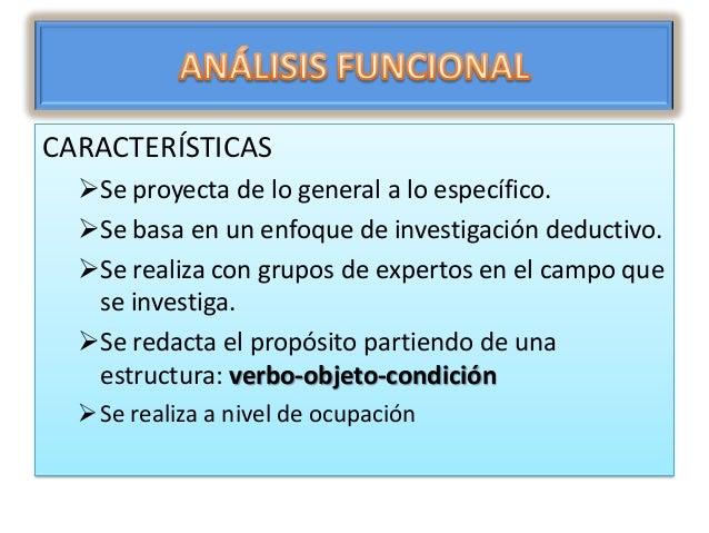 Construyendo competencias en base a el análisis funcional Slide 3