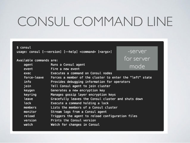 Consul microservice enabling microservices and reactive for Consul bootstrap