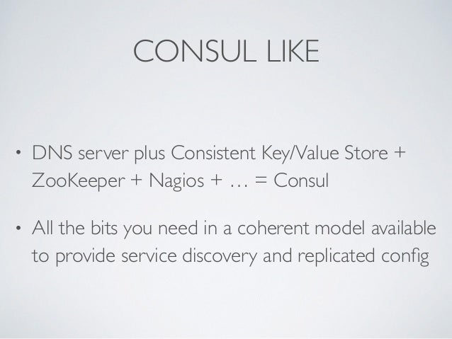 Consul microservice enabling microservices and reactive for Consul zookeeper