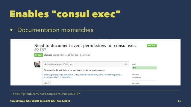 Prometheus meets consul consul casual talks for Consul monitoring