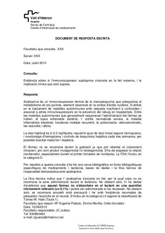 Facultatiu que respon: Mª Eugenia Palacio, Emma Movilla, Celia González Data: 12/06/2013 Facultatiu responsable: JC Juárez...