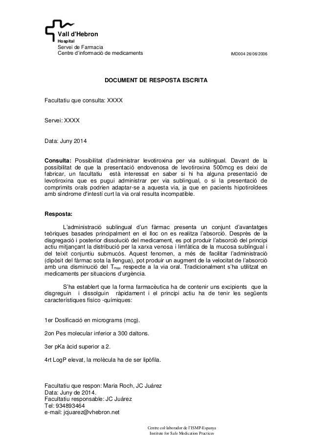 IMD004 26/06/2006 Facultatiu que respon: Maria Roch, JC Juárez Data: Juny de 2014. Facultatiu responsable: JC Juárez Tel: ...