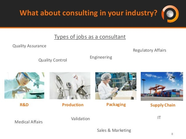 ... Professional Attitude; 8. 8 What About Consulting In Your Industry?  Types ...