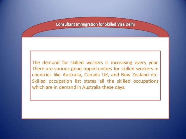 The demand for skilled workers is increasing every year. There are various good opportunities for skilled workers in count...