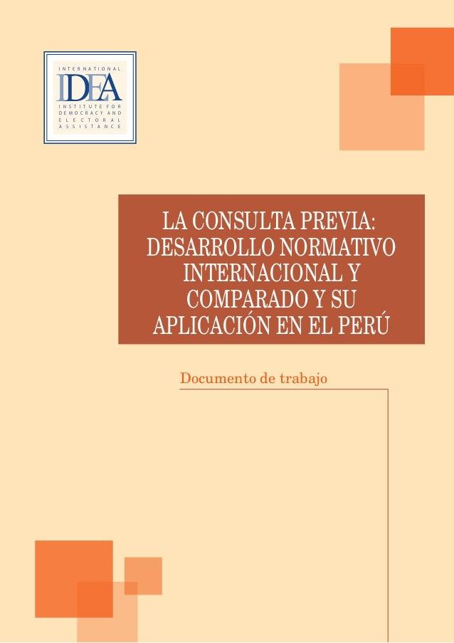 117La consulta previa en el Perú: contexto y debates actualesn Borja Norte 1123orja, Lima 4151 1 203 796051 1 437 7227dea....