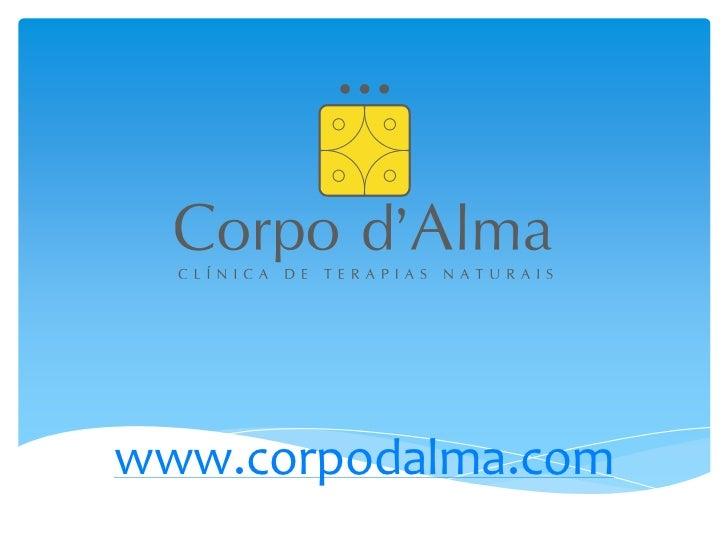 www.corpodalma.com<br />
