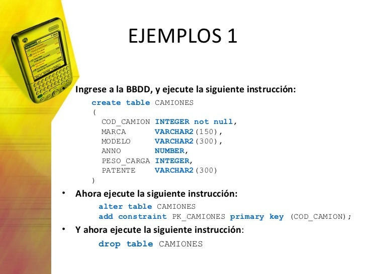 Consultas en sql b sico - Alter table add constraint primary key ...