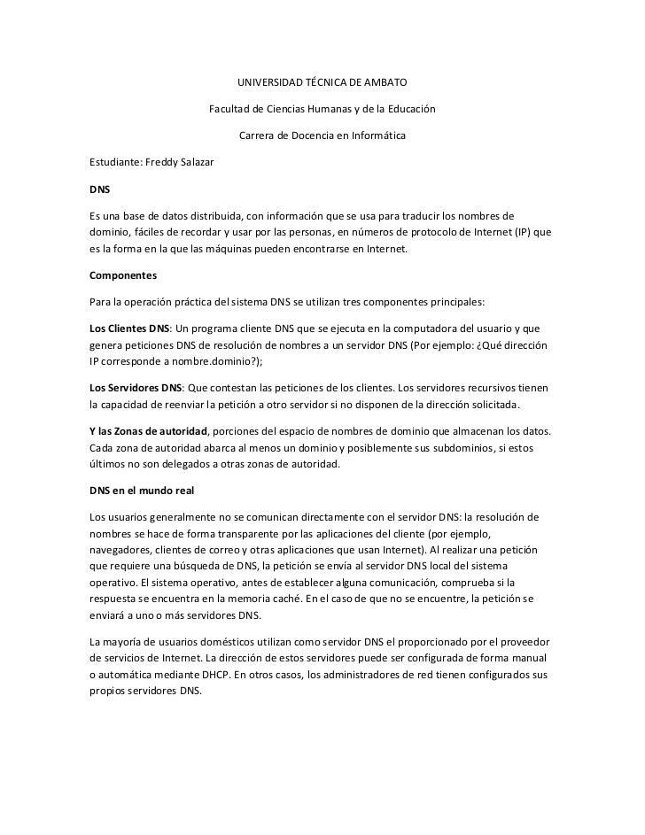 UNIVERSIDAD TÉCNICA DE AMBATO                         Facultad de Ciencias Humanas y de la Educación                      ...