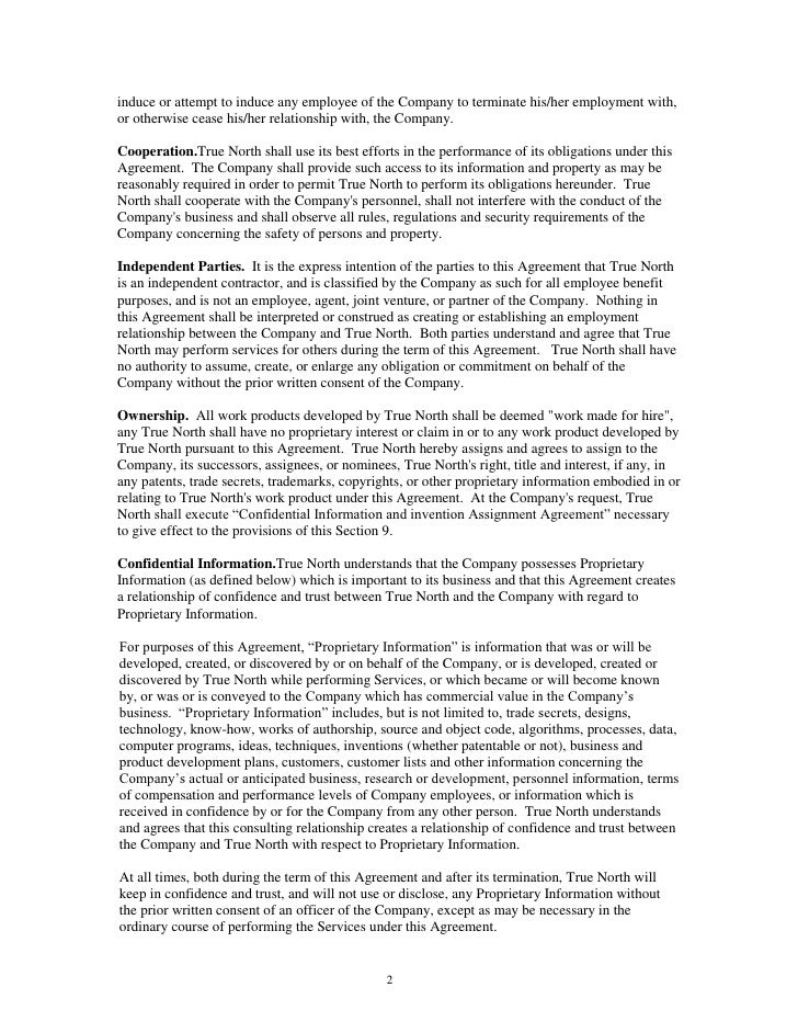 Consulting Agreement Sample Consulting Agreement Template – Standard Consulting Agreement