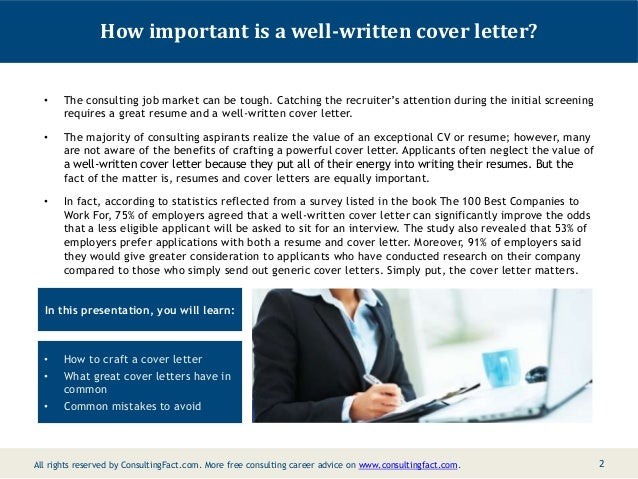 Consulting Management Cover Letter Consulting Examples Resume Sample; 2.