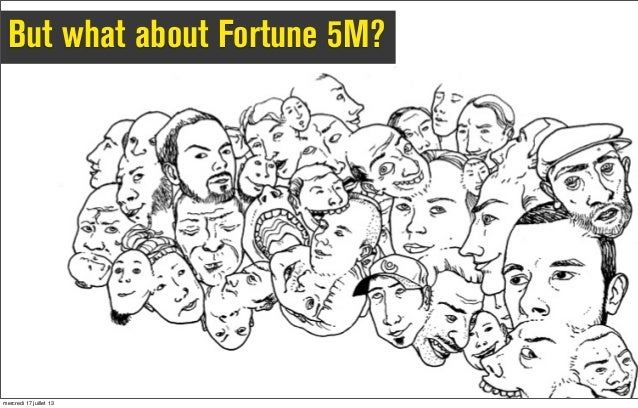 But what about Fortune 5M? mercredi 17 juillet 13