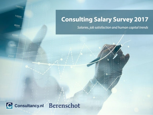 Consulting Salary Survey Netherlands 2017