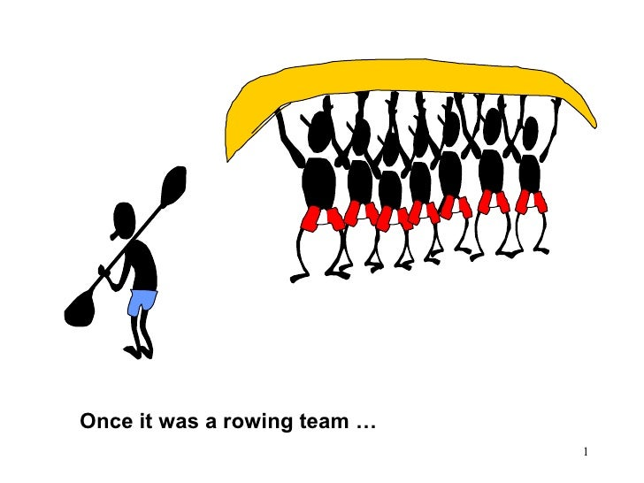 Once it was a rowing team …