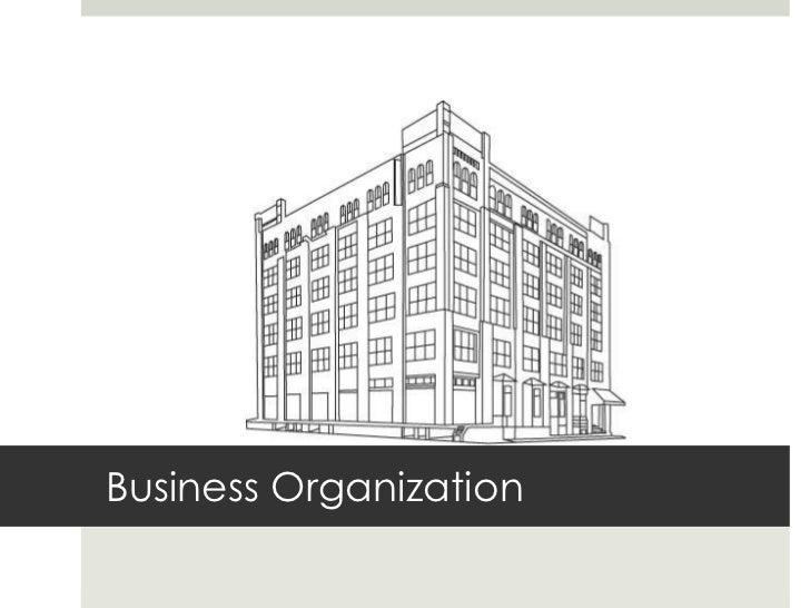 Business Organization<br />