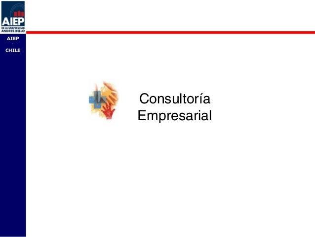 AIEP  -CHILE        Consultoría        Empresarial                      AIEP