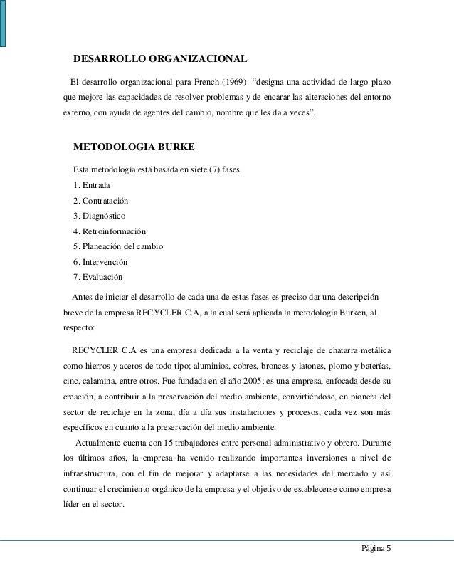Desarrollo Organizacional Y Consultoria. Pdf