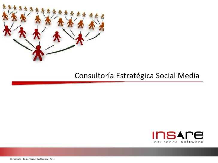 Consultoría Estratégica Social Media© Insare. Insurance Software, S.L.