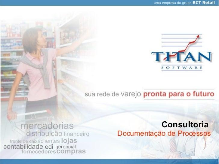 Consultoria   Documentação de Processos