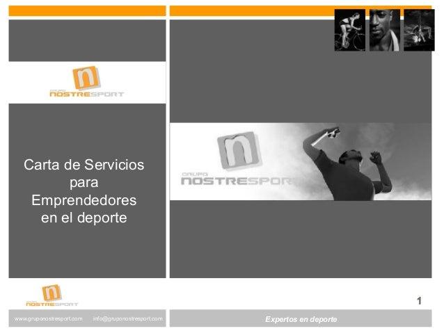 www.altair-consultores.com  info@altair-consultores.com  www.gruponostresport.com info@gruponostresport.com ExEpxerptoesr ...
