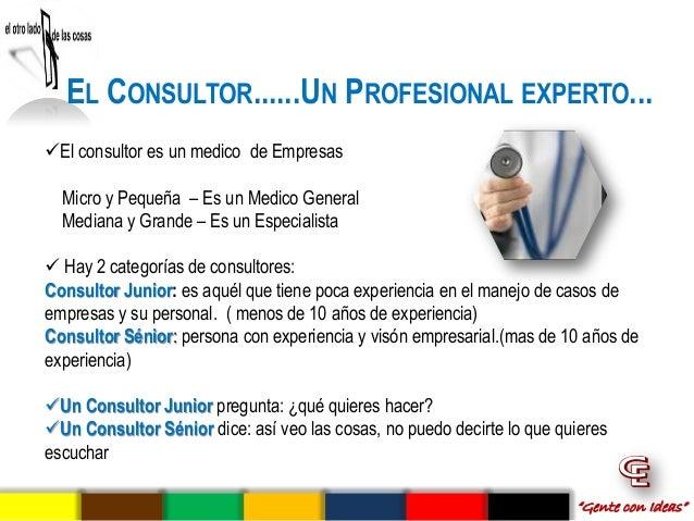 Consultoria empresarial for Que es un consul