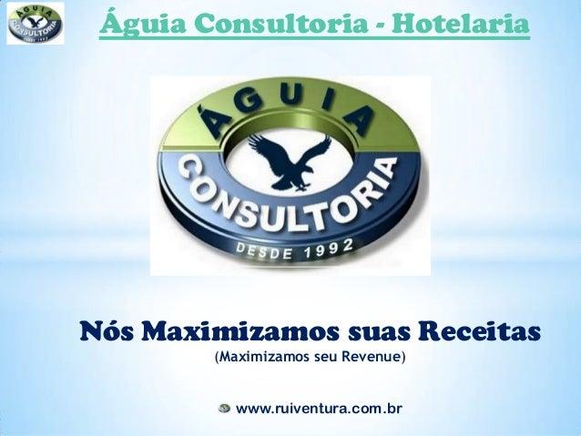 Águia Consultoria - HotelariaNós Maximizamos suas Receitas        (Maximizamos seu Revenue)          www.ruiventura.com.br