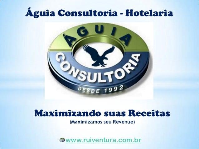 Águia Consultoria - Hotelaria Maximizando suas Receitas        (Maximizamos seu Revenue)       www.ruiventura.com.br