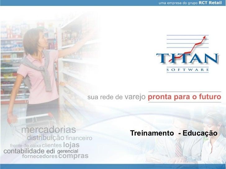 Treinamento  - Educação